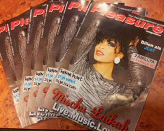 Mischu Laikah on the Cover of Pleasure Magazine